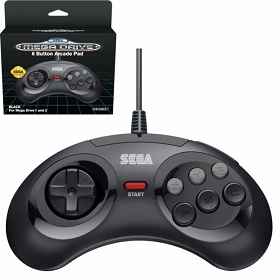 Original Sega Mega Drive Mini 6 Button Controller
