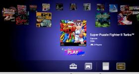 Playstation Classic Spielemenü
