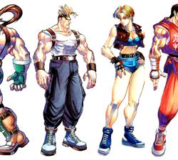 Alle Charaktere aus Final Fight 3