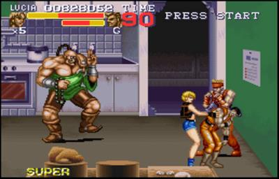 Final Fight 3 SNES Gameplay