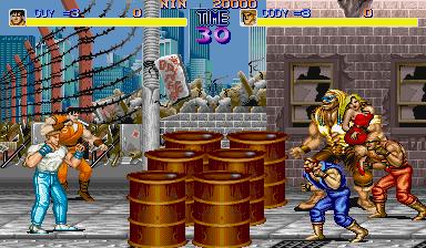 Final Fight Metro City Level 1