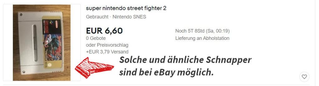 Street Fighter eBay