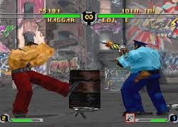 Final Fight Revenge Edi E. gegen Haggar