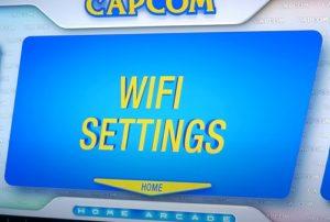 Capcom Home Arcade WLAN-Verbindung