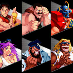 Final Fight Revenge Charaktere