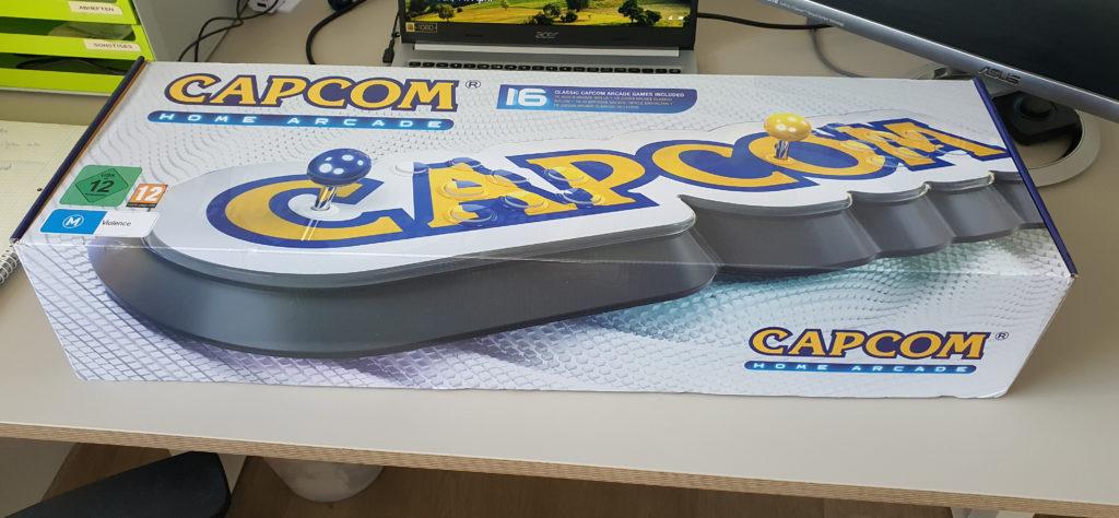 Capcom Home Arcade Verpackung
