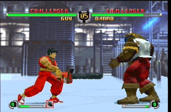 Final Fight Revenge Gameplay Screenshot
