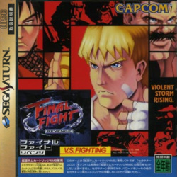 Final Fight Revenge Violent Storm Rising Cover
